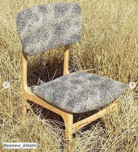 Chaise coussin Passeur d'objets