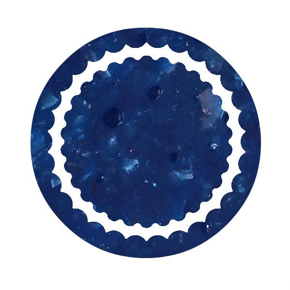 dessin verre bleu recyclé