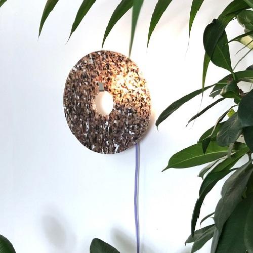 Lampe Volubilis plastique recyclé