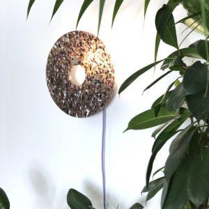 lampe plastique recyclé