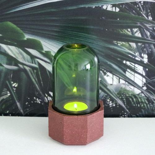 photophore sable bouteille recyclée